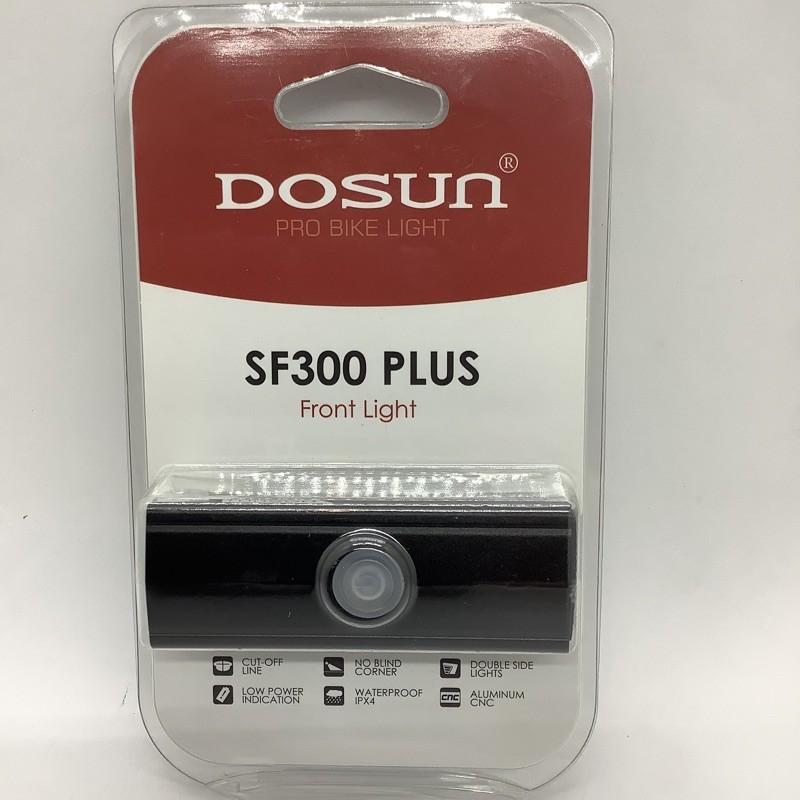 DOSUN SF300 PLUS自行車前燈 USB充電款
