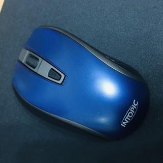 二手滑鼠 保存狀況良好 9成新 INTOPIC 廣鼎 2.4GHz飛碟無線光學鼠(MSW-721) 新北市