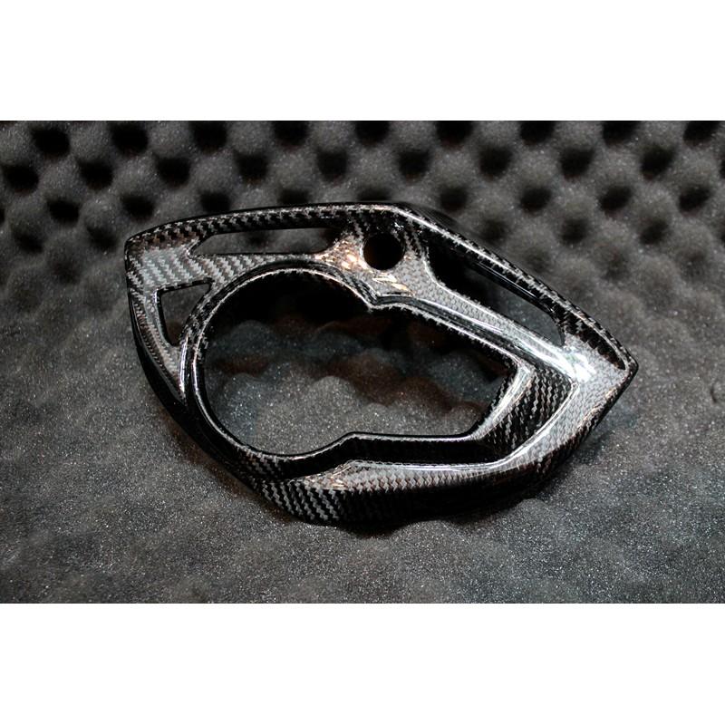 MOS 三代勁戰 三代卡夢儀表板+小盾 碳纖維熱壓一體式儀錶板 超服貼 高密合度  杜雅精油塗層 高光澤