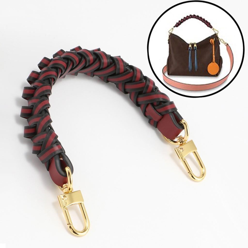 適用XI LV NEONOE水桶包編織手腕拎帶配件老花包DIY改造提手帶子