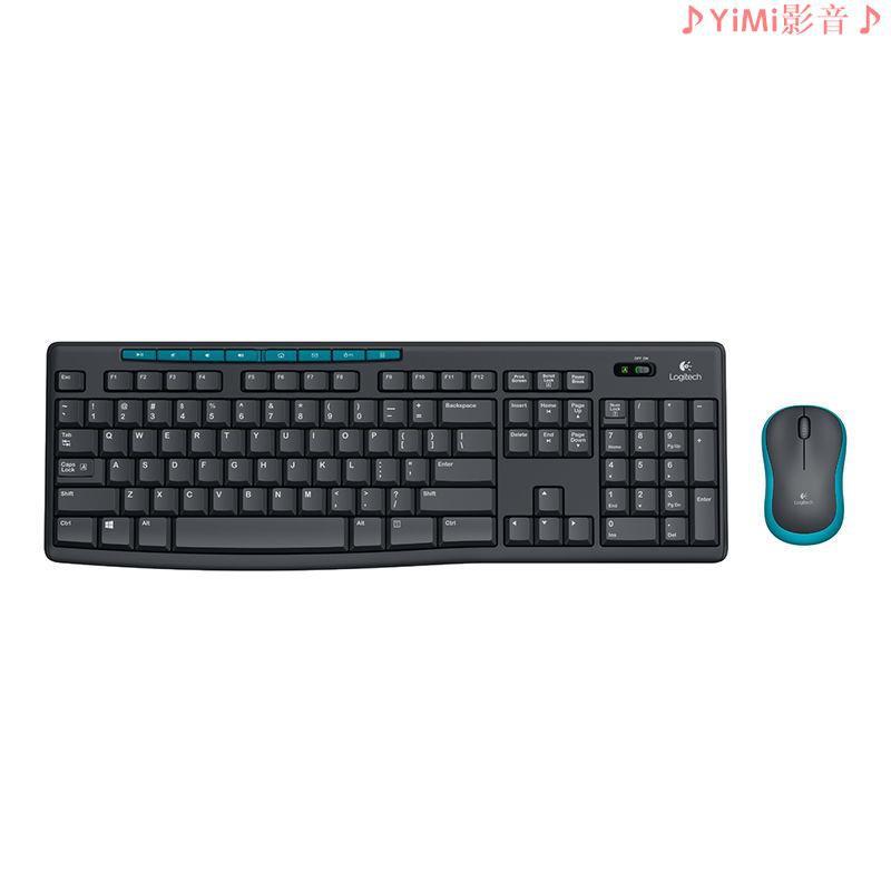 【現貨】羅技  MK275 鍵鼠套裝 全尺寸帶無線2.4G接收器 辦公鍵鼠套裝 支持批發