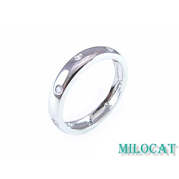 ✿Milocat✿ 天然鑽石 真鑽 18K 白金 求婚 婚戒 戒指 對戒 鑽戒 0.19克拉