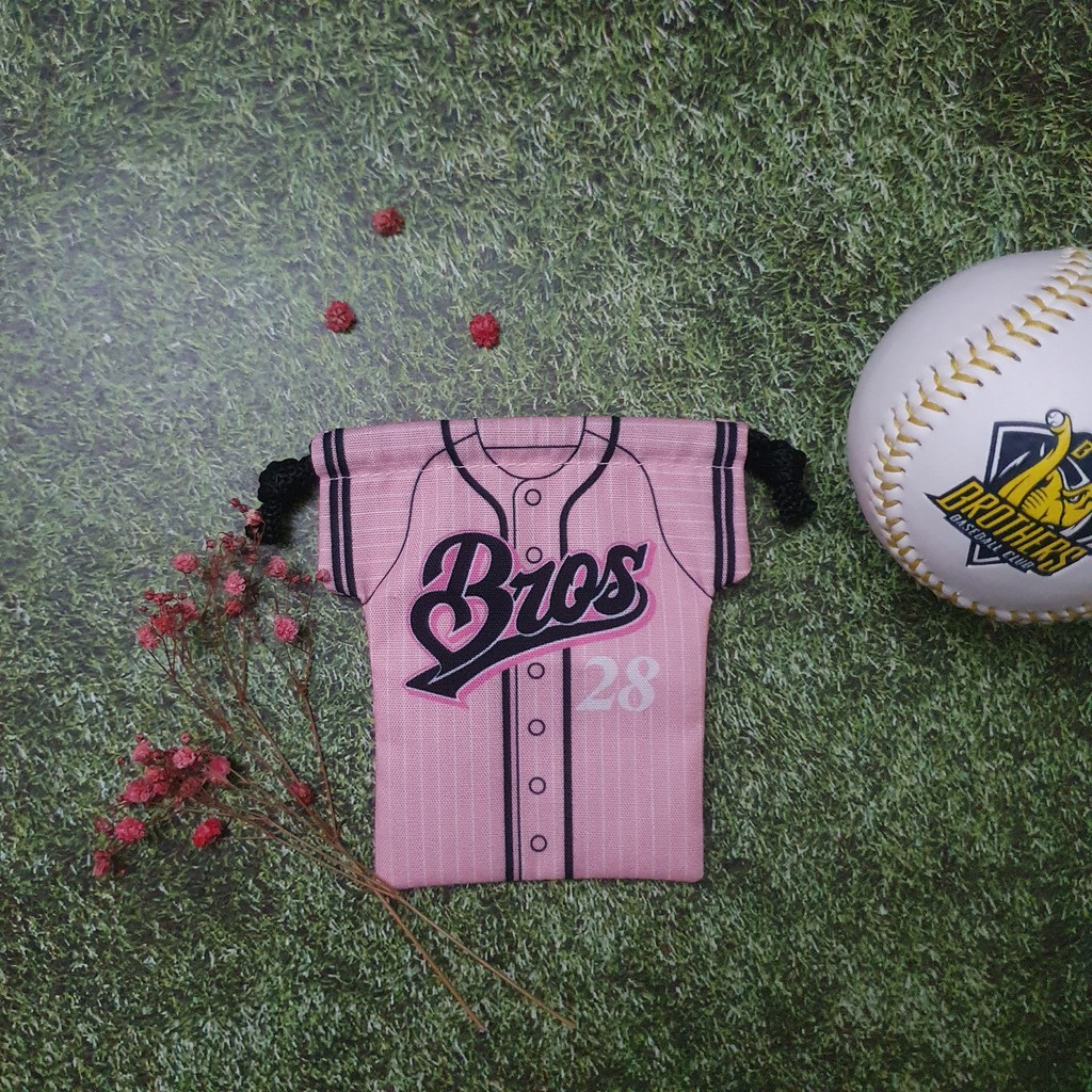 中信兄弟 扭蛋 米蘭達 球衣 束口袋 鑰匙圈 女孩日 棒球 中華職棒
