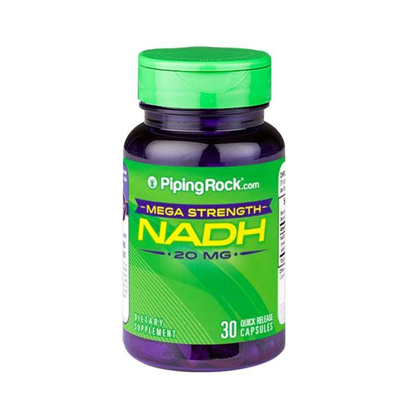 【長壽抗衰老】美國進口NADH線粒體素補充劑NAD細胞能量可搭檔NMN
