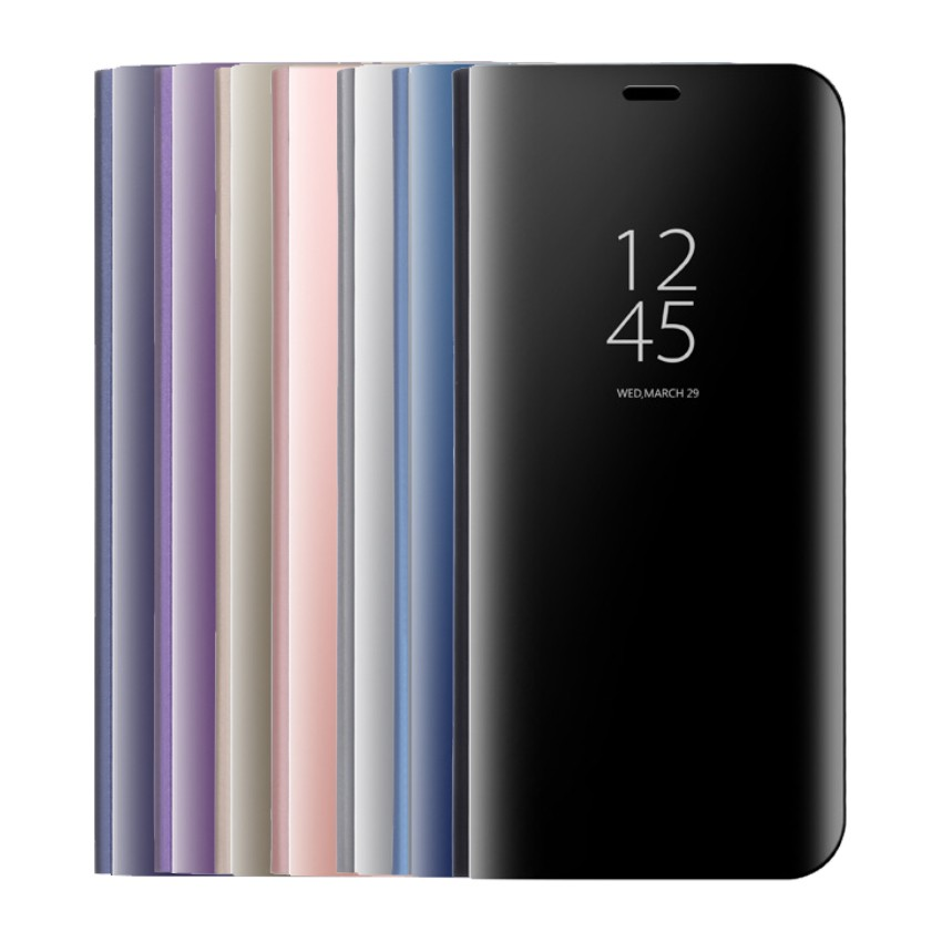 Samsung Galaxy Note10+ Note10 Note9 Note8 Note5 保護套透視鏡面手機套皮套