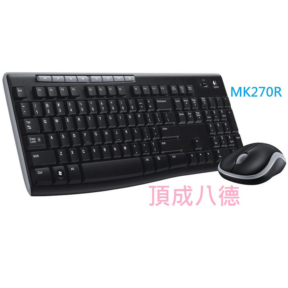 LOGITECH 羅技 MK270R 無線滑鼠鍵盤組 MK270 【超商可寄】