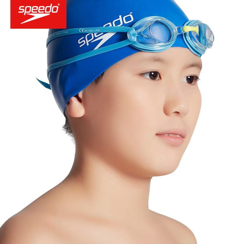 Speedo 泳鏡 青少年高清近視泳鏡 防水防霧泳鏡 兒童防紫外線泳鏡