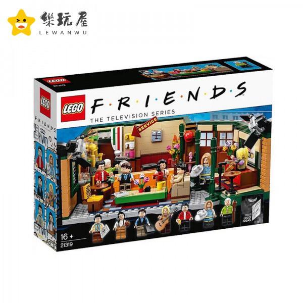 🔥新款現貨🔥樂玩屋【正版現貨】樂高 LEGO 21319 Friends Central perk 老友記 中央公園