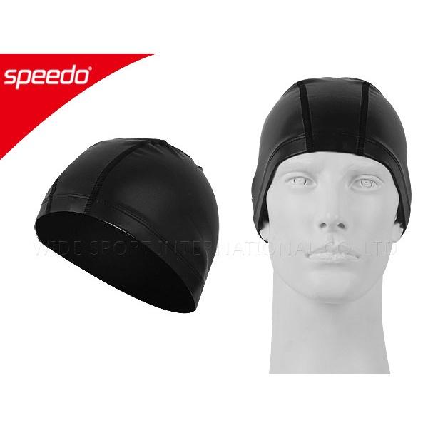 SPEEDO 成人合成泳帽UltraPace (游泳 蛙鏡 黑