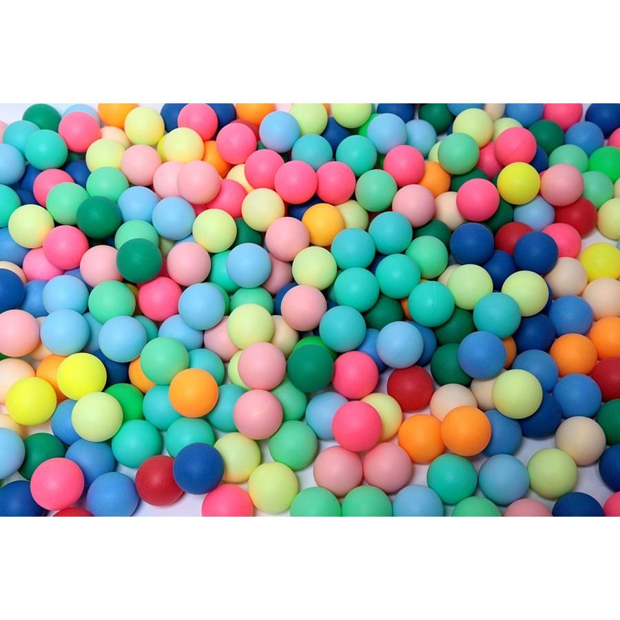 【紅海】現貨 無縫打磨球/抽獎球/遊戲用40mm乒乓球/摸彩/摸獎球 不挑色100顆裝