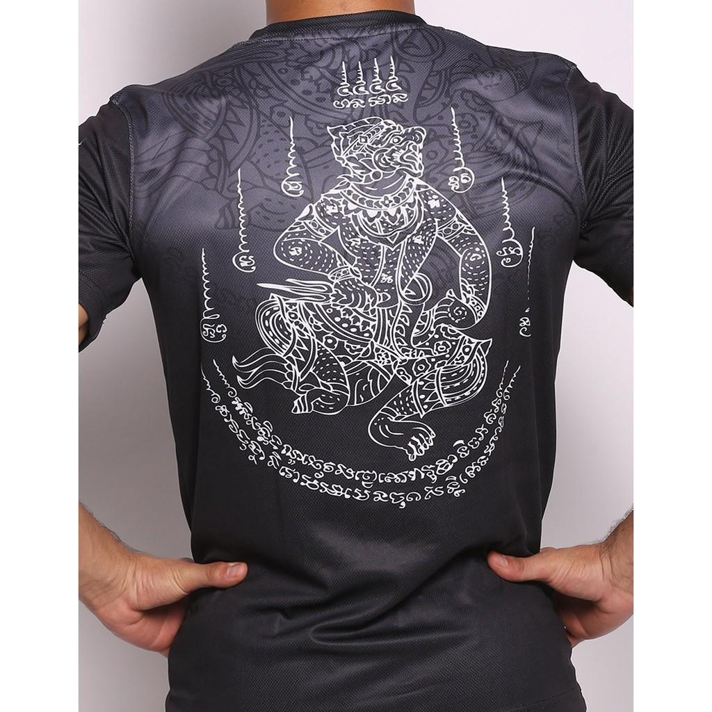 ❒♙✴Tiger泰國老虎泰拳透氣T恤MMA拳擊搏擊訓練健身運動速干短袖