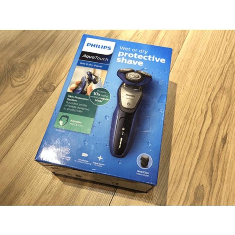 荷蘭原裝 PHILIPS 三刀頭乾濕兩用電鬍刀(S5600)