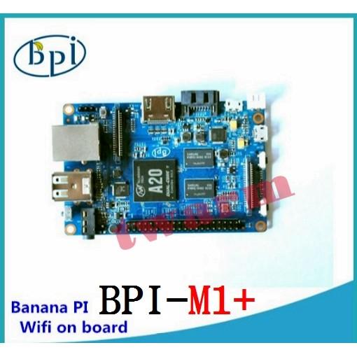 香蕉派 BPI-M1+,Banana Pi M1+ A20雙核 開發板 (香蕉派M1升級版)