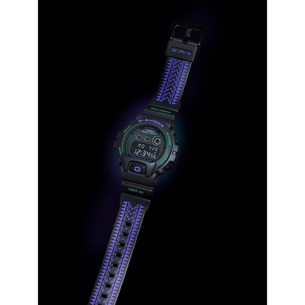 EVA CASIO 福音戰士 G-SHOCK 手錶 25周年限定版 DW-6900 預購A