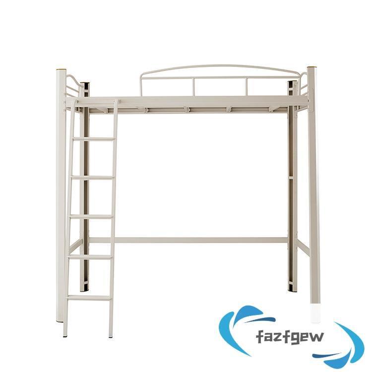 學生公寓多功能上床下桌組合床單人鐵架床簡約小戶型閣樓高低床架