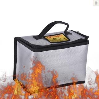 *A YND-0872鋰電池安全防火袋防爆袋耐高溫鋰電池阻燃袋用於電池運輸儲存