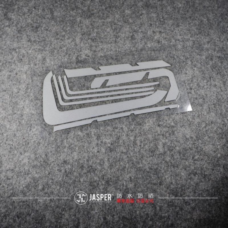 SYM DRG158 冷排蓋貼紙 反光貼紙