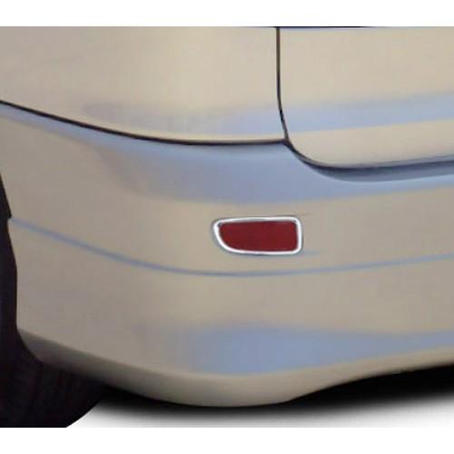 ~圓夢工廠~ Toyota Previa 2000~2005 改裝 鍍鉻銀 後霧燈框飾貼 後保桿燈框 後反光片框