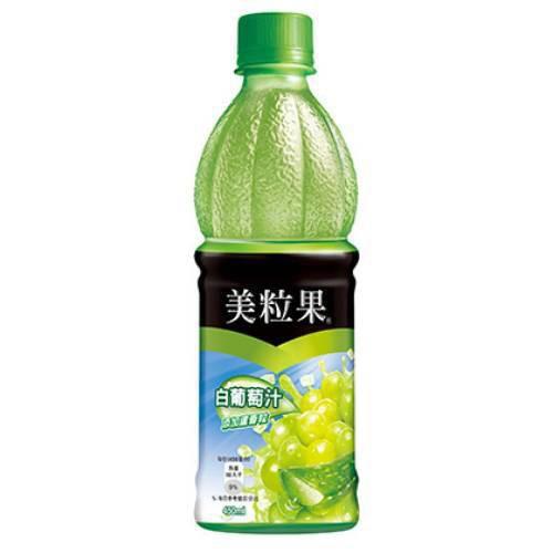 美粒果 白葡萄果汁(450mlX4瓶/組)[大買家]