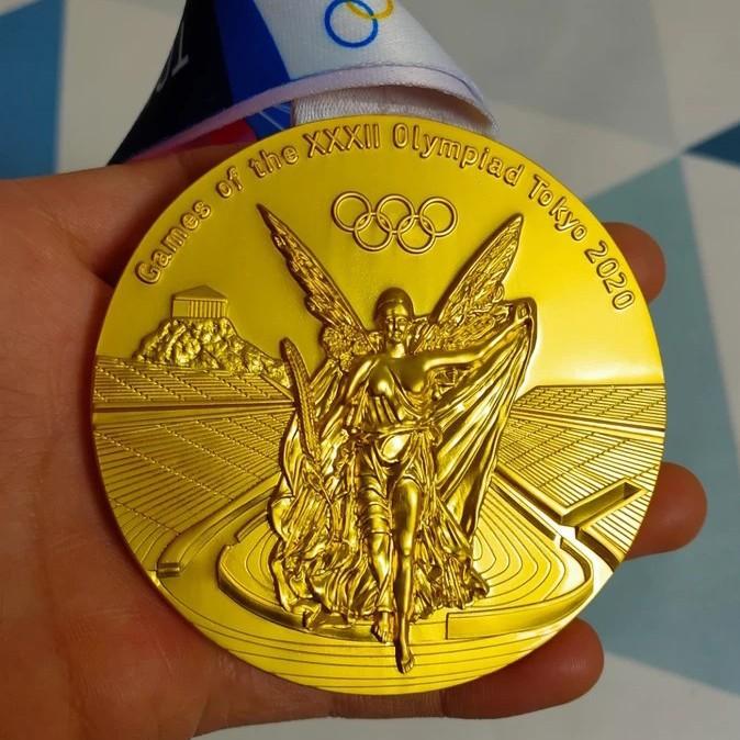 東京奧運會 紀念品 金牌 紀念幣 2020東京奧運會金銀銅獎牌復刻