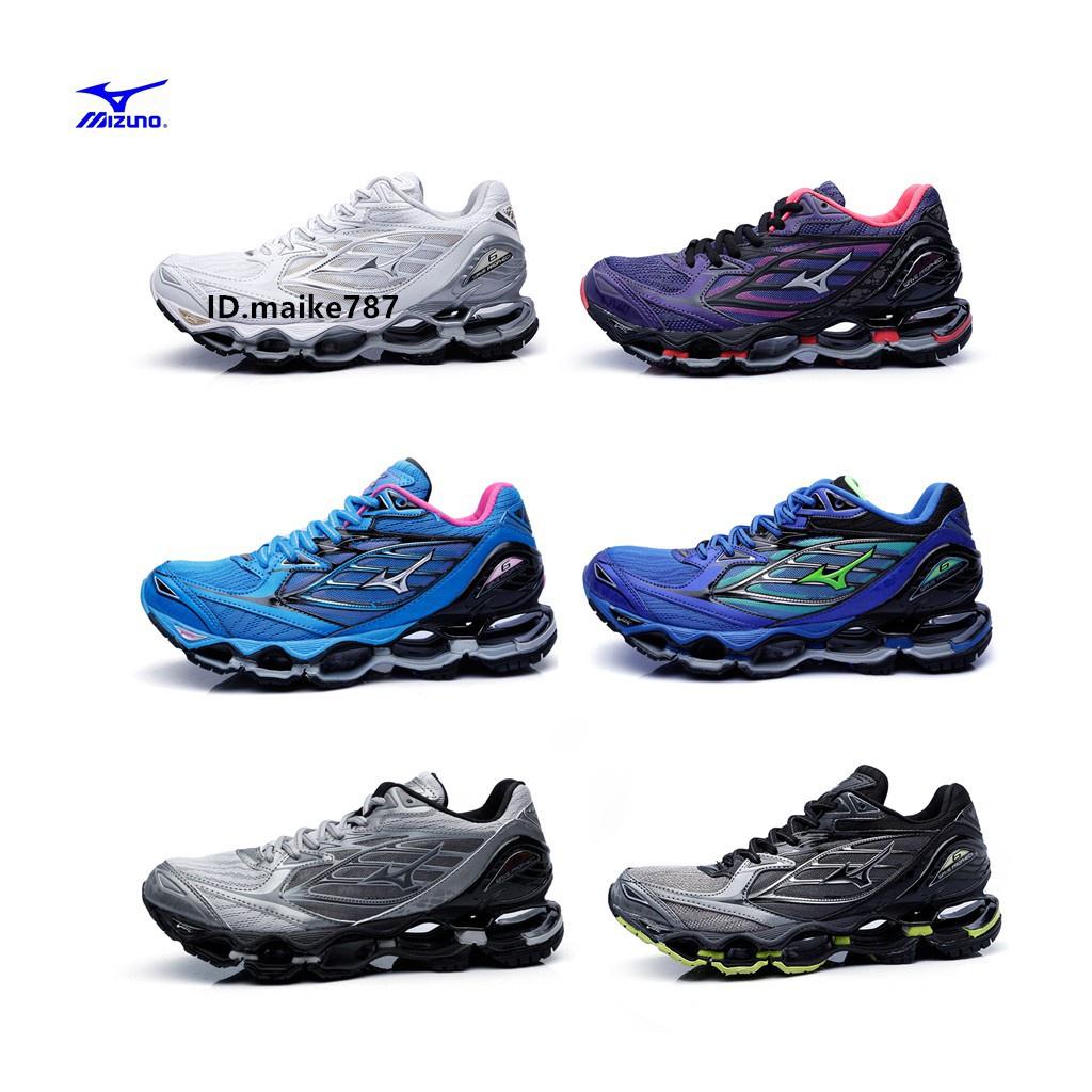 Mizuno Wave Prophecy 9 [J1GC200051] 男 慢跑鞋 運動 避震 吸震 彈性 頂級