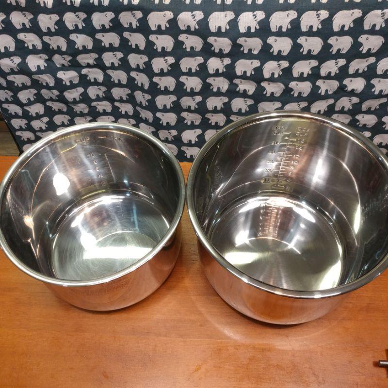 全新6qt 8qt IP鍋使用的不鏽鋼內鍋 內鍋蓋 鍋口密封膠圈 INSTANT POT 音速鍋 電子壓力鍋