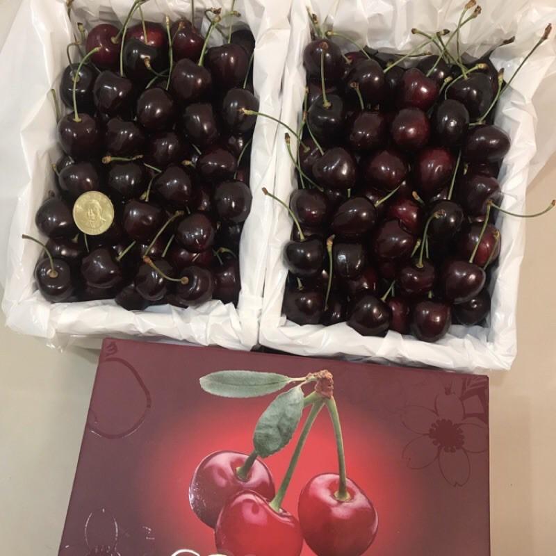 紐西蘭空運櫻桃 一公斤 兩公斤 紐西蘭櫻桃 空運 脆甜 新鮮 水果 櫻桃 1kg 2kg