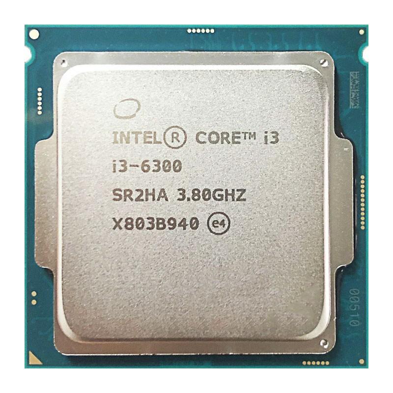 英特爾酷睿i3-6300 i3 6300 3.8 GHz雙核四線程CPU處理器4M 51W LGA 1151