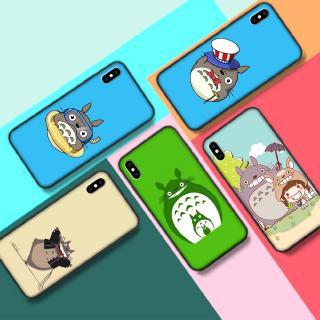 iPhone 5 5S 6 6S SE 7 8 Plus XS Max龍貓矽膠套保護套