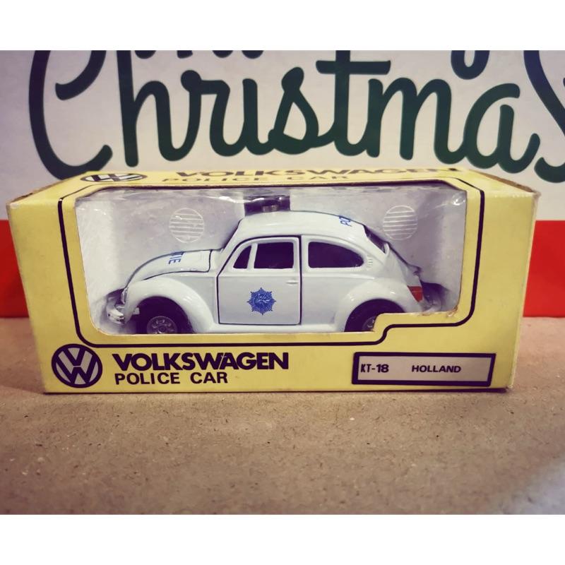 絕版中古美品 日製 多美 Tomica Dandy VW 福士 甲蟲車 金龜車 荷蘭🇳🇱警車