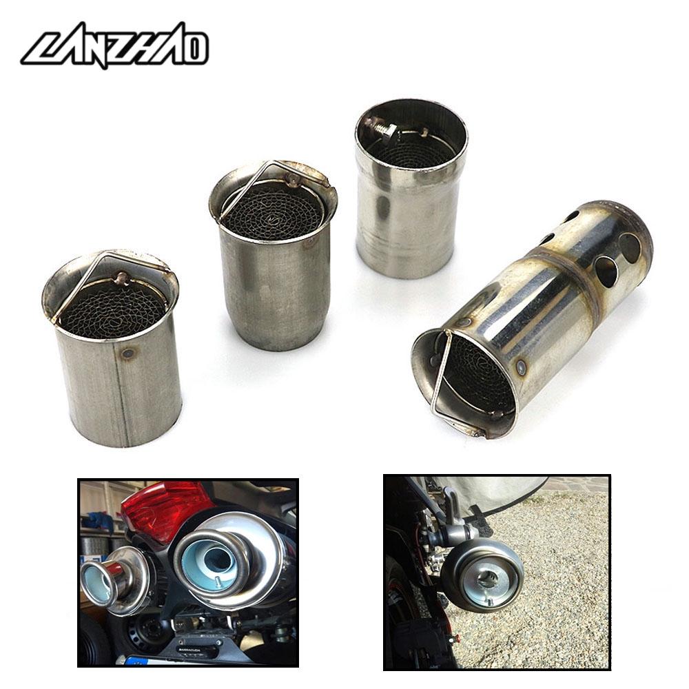 【LANZHAO】排氣管消音塞 觸媒消音塞 降噪 重機51mm消聲塞 機車48mm消音塞 摩托車50mm排氣管塞