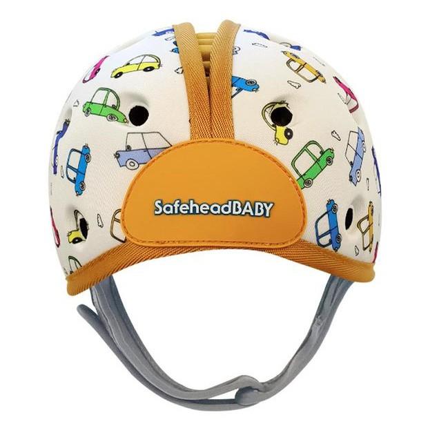 英國Safehead Baby 幼兒學步防撞安全帽-噗噗汽車【衛立兒生活館】