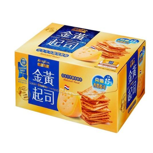 Kenji 健司 健康時刻金黃起司餅乾 28.5公克X45包 C81989 COSCO代購   超商限2盒