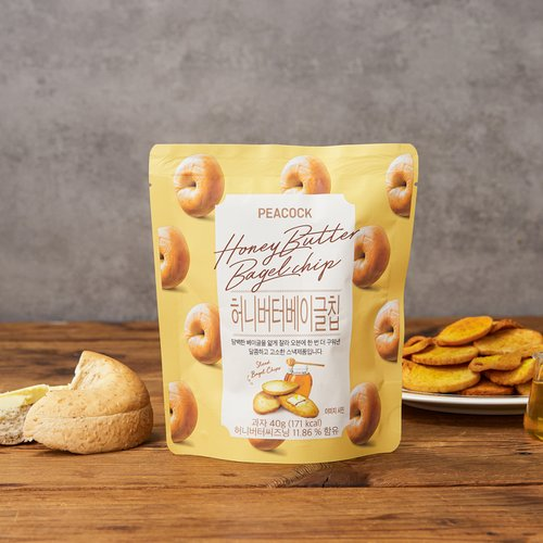 [PEACOCK]蜂蜜奶油薯片(40g)