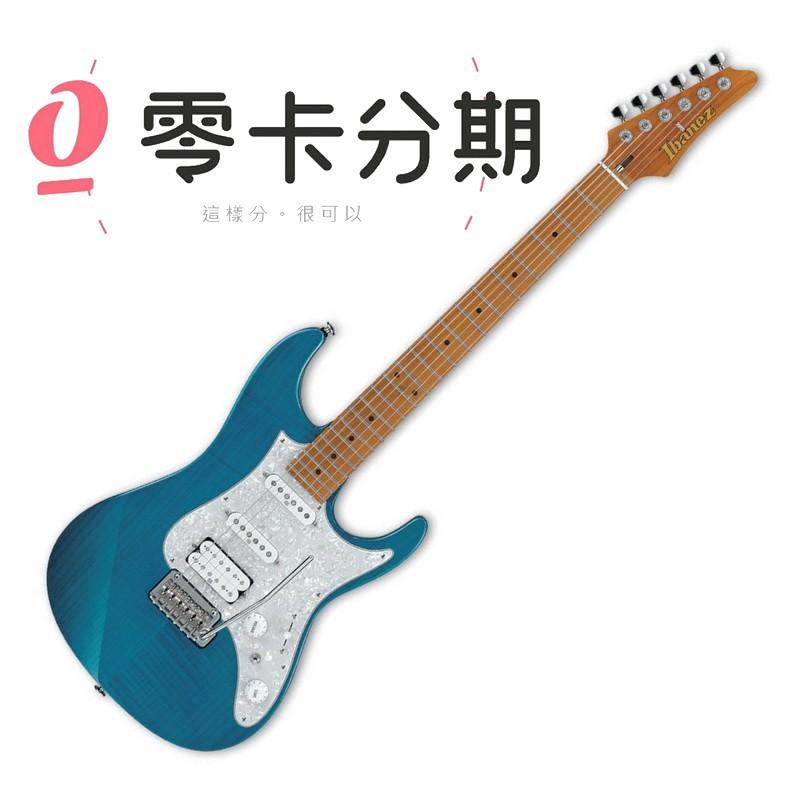 Ibanez 日廠 AZ2204F-TAB 透明水藍色 AZ 系列 電吉他[唐尼樂器]