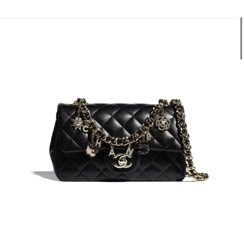 Chanel  21早春限定款CF 20 怎麼這麼美!!😍😍
