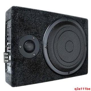 《新品免運》 200W大W數 主動式8吋12V薄型木質重低音喇叭 內建擴大機帶3吋高音(送線組) 臺中市