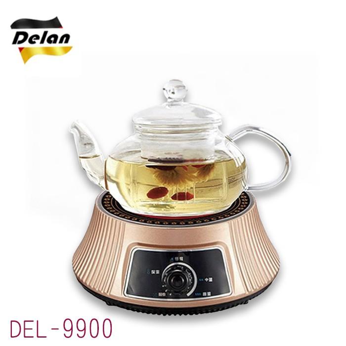 【德朗牌】黑晶電陶爐〔禮盒組〕 DEL-9900
