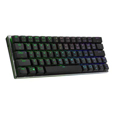 泓達電腦  Cooler Master SK622 藍芽無線 無線鍵盤 矮軸 英刻 太空灰黑 青軸