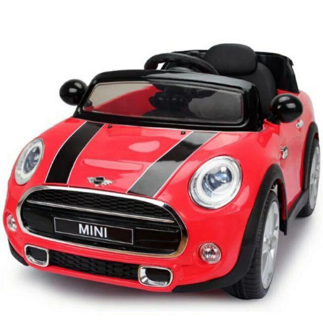 免運費【型號 JE195】MINI COOPER 授權兒童電動車