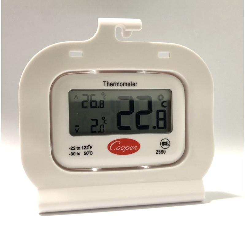Cooper 2560電子式高低溫度計🌡️,藥品疫苗冰箱用,最高最溫低溫度計、診所藥局藥廠衛生所健康中心電子水銀高低計