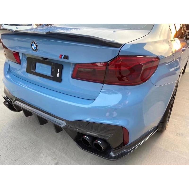 [馬斯克車庫] BMW F90 M5 M包 專用 乾碳 濕碳 carbon 卡夢 後下巴 後下導流 3D款
