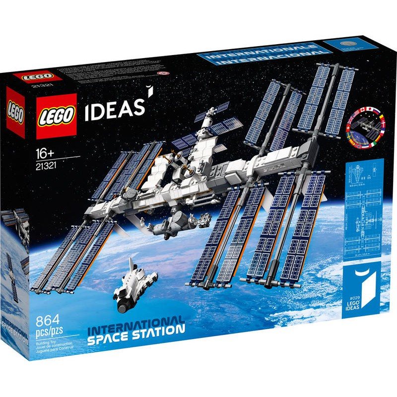 玩具城市~現貨 IDEAS系列 【LEGO 21321國際太空站】 樂高積木