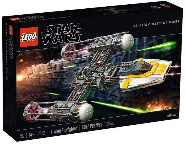 【滿天星辰】LEGO樂高75181Y-翼星際戰機UCS星球大戰系列收藏大型太空戰鬥機