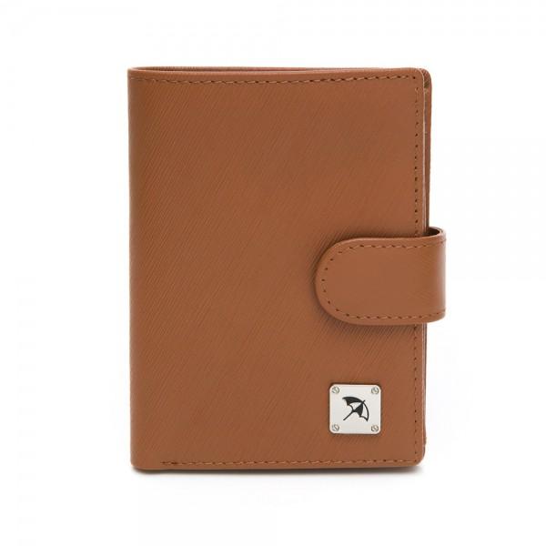 雨傘牌 包包【永和維娜】Arnold Palmer - 三折式壓扣中夾 MALE系列 -咖色 092-5304-60-3