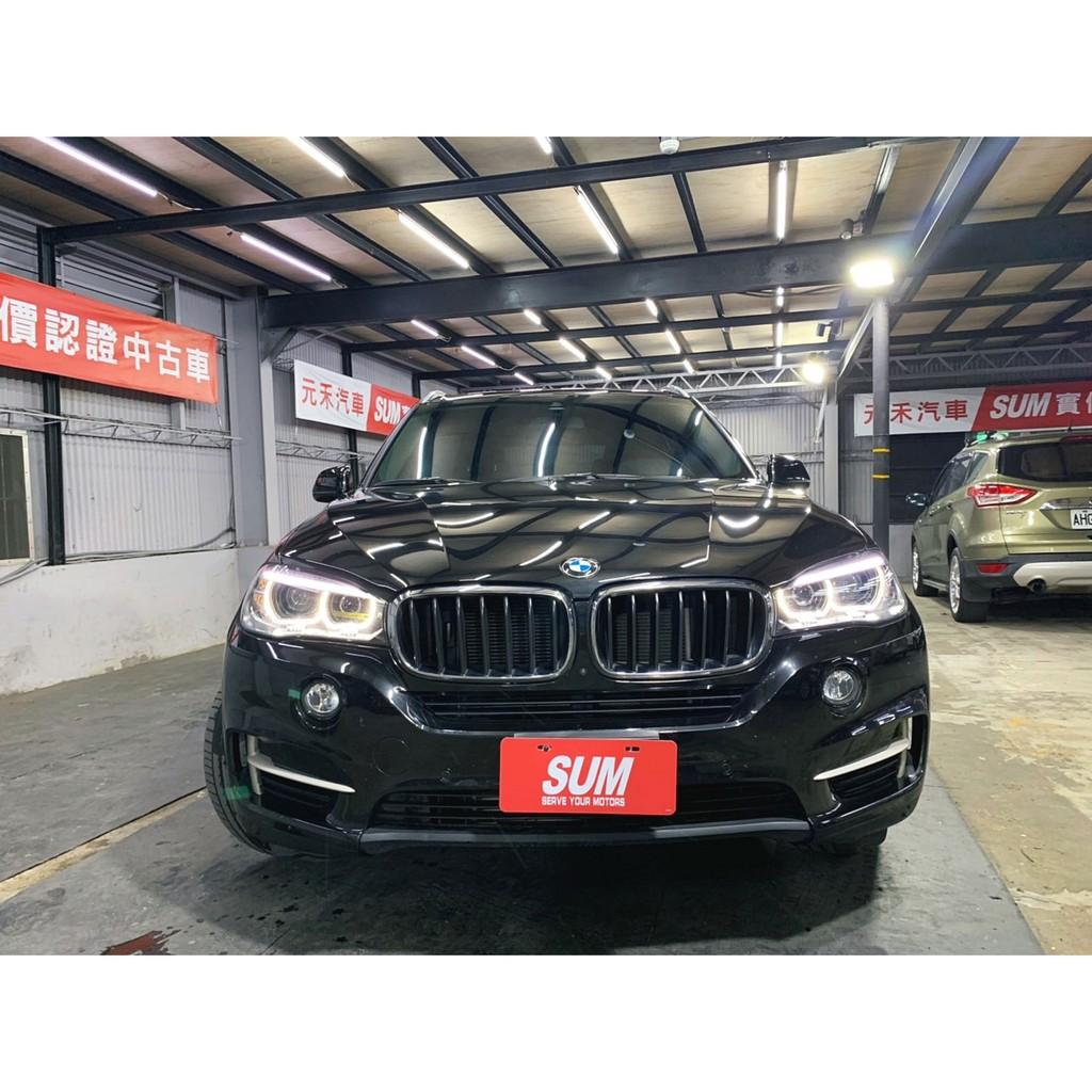 正2017年出廠 小改款總代理BMW X5 Xdrive25d超貸 找錢 實車實價 全額貸 一手車 女用車 非自售 里程