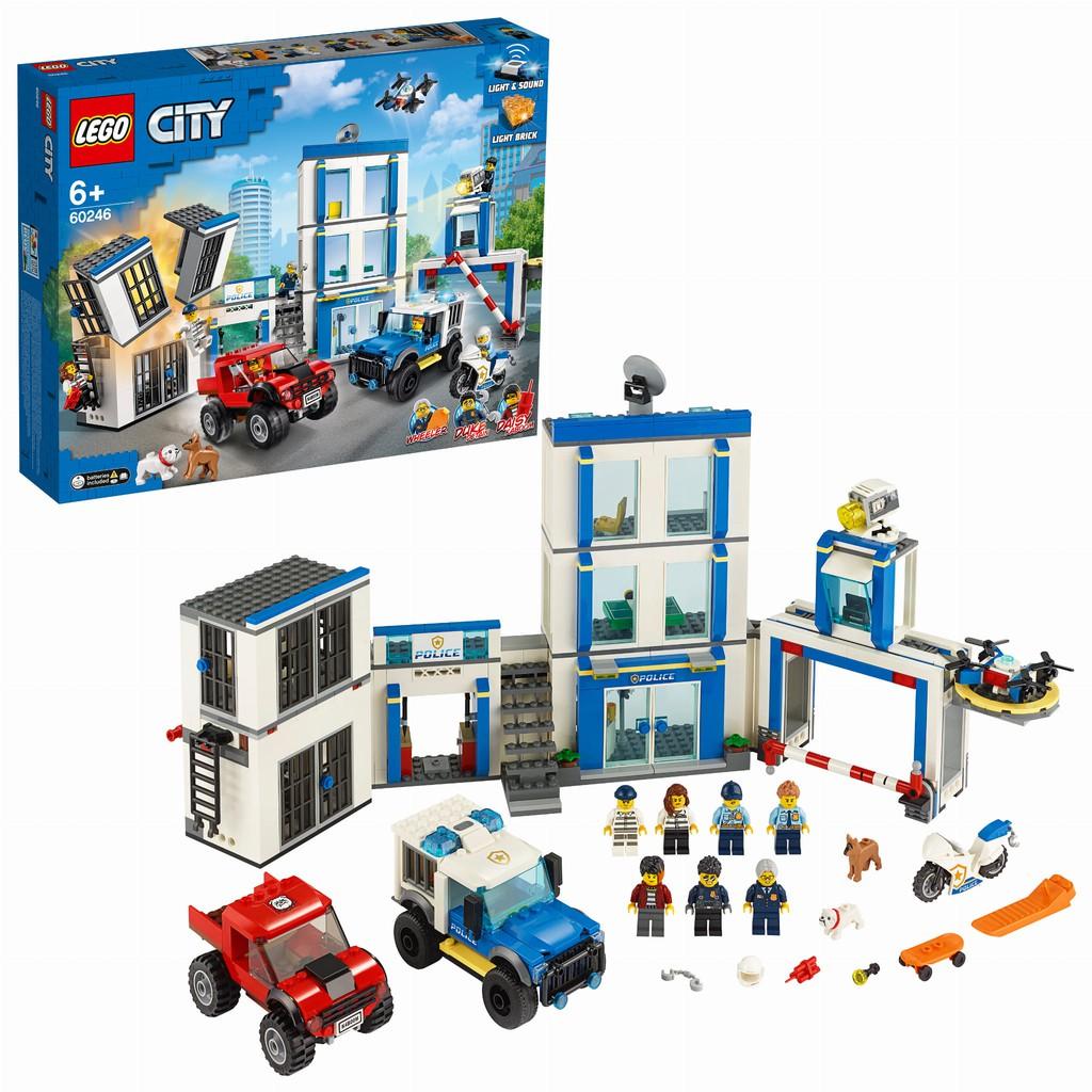 ~樂樂等~ 樂高LEGO City 城市系列  60246 警察局
