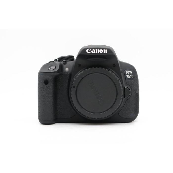 【高雄青蘋果3C】CANON EOS 700D 單機身 APS-C 快門約155XX 二手單眼 二手相機#43240