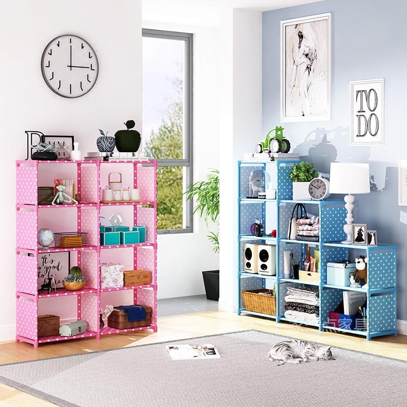 臥室房間創意多功能玩具架收納架兒童多層放玩具的架子經濟型LH30