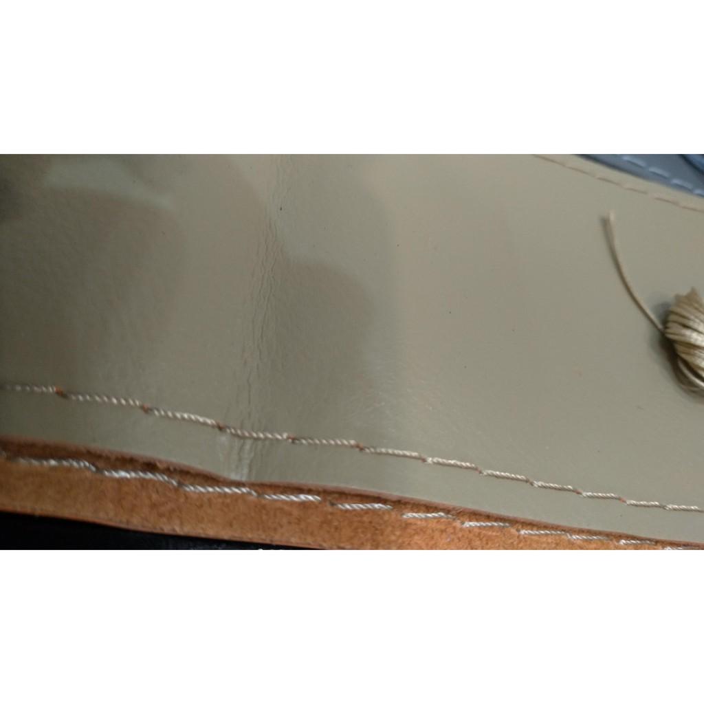 高質感 手縫方向盤套 拉線款 柔軟 premacy tribute mini outlander lancer